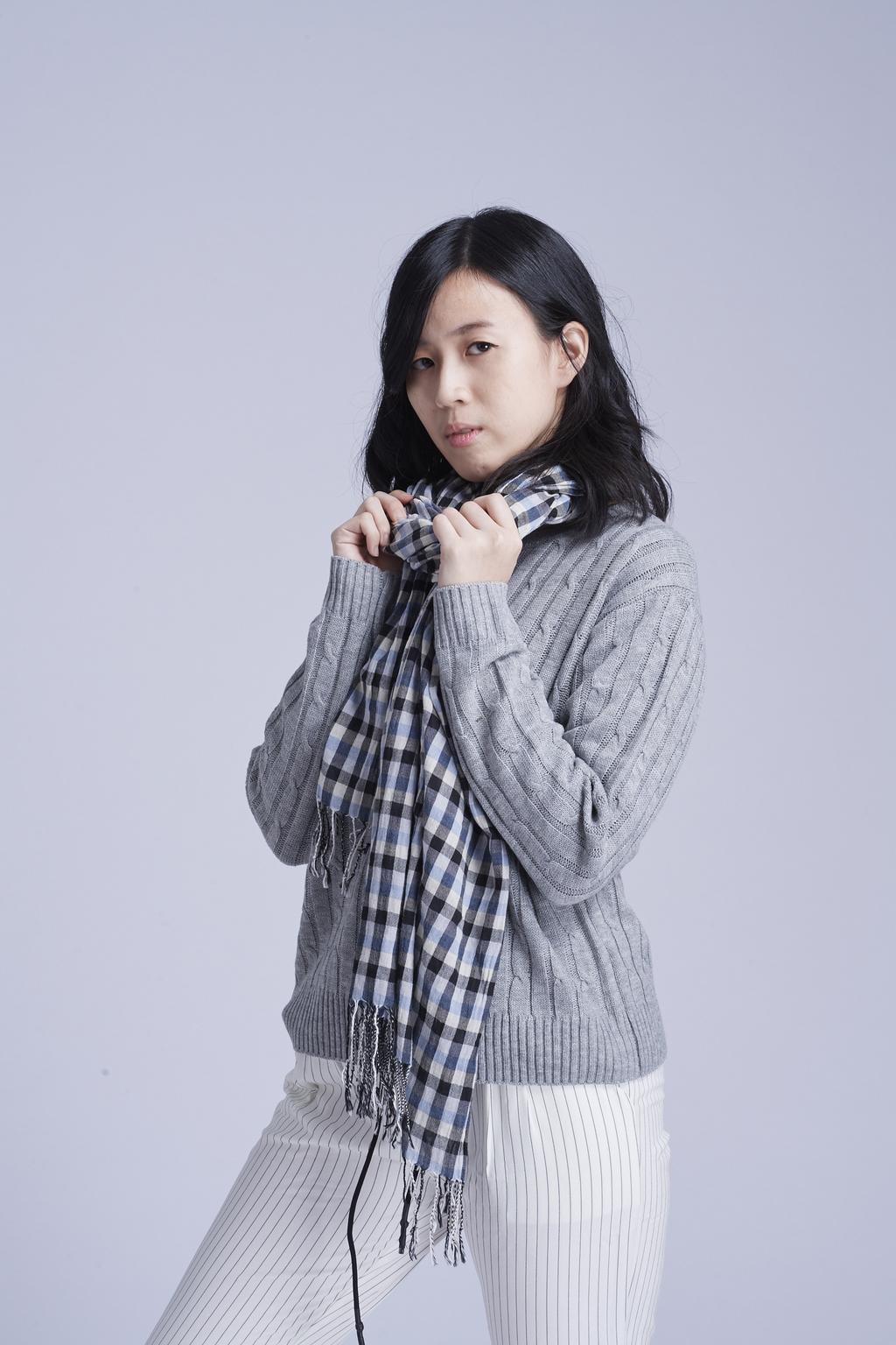 麻紋針織衫